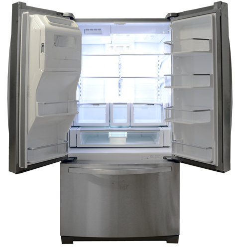 whirlpool gold series refrigerator. this whirlpool\u0027s fridge provides 11.8 cubic feet of usable storage. whirlpool gold series refrigerator i