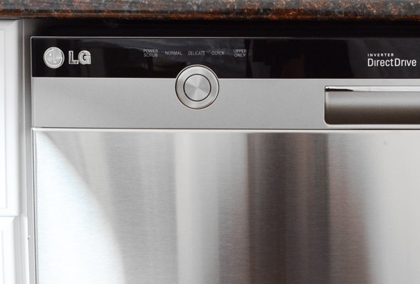 left side of the lg controls