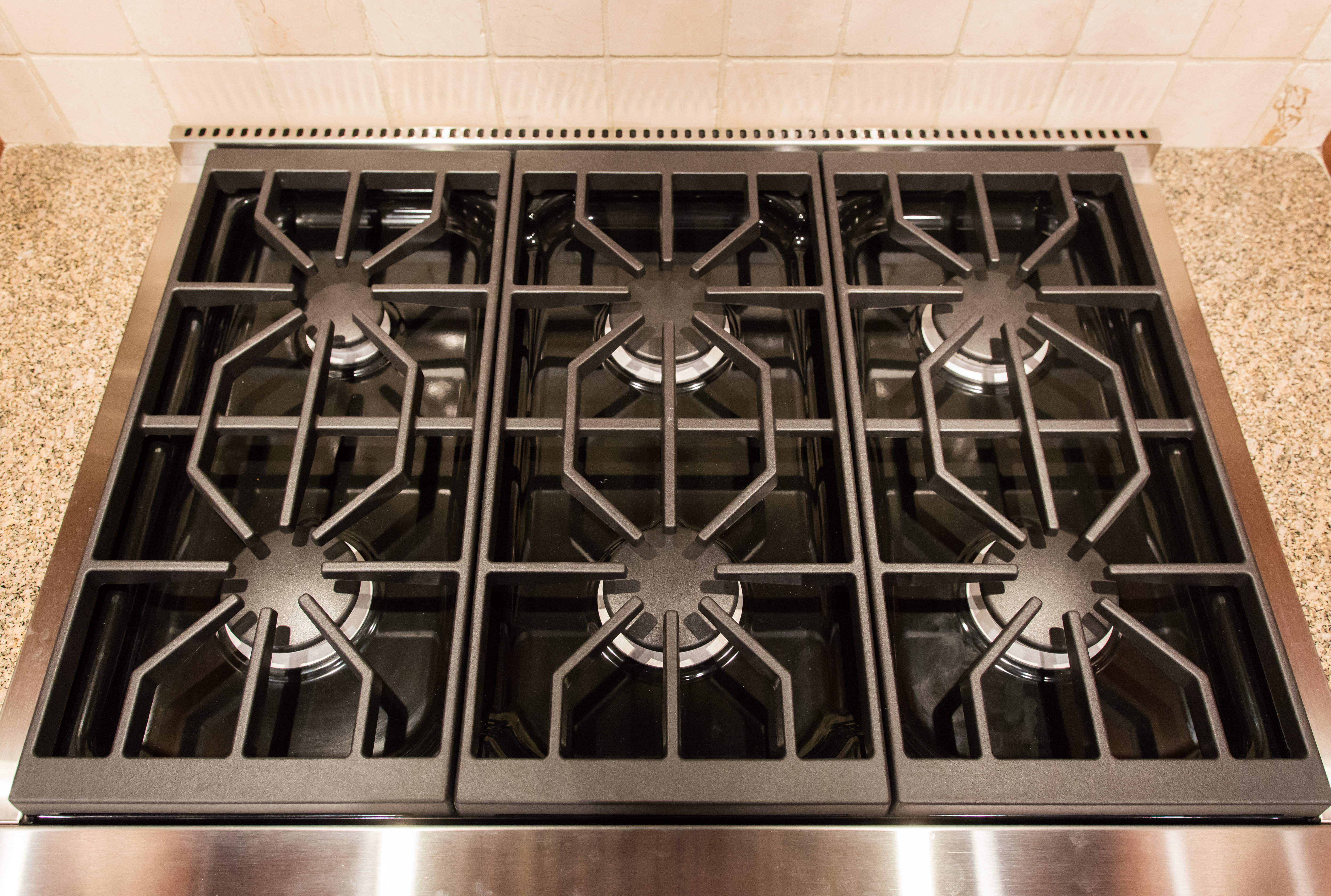 cooktop and grates