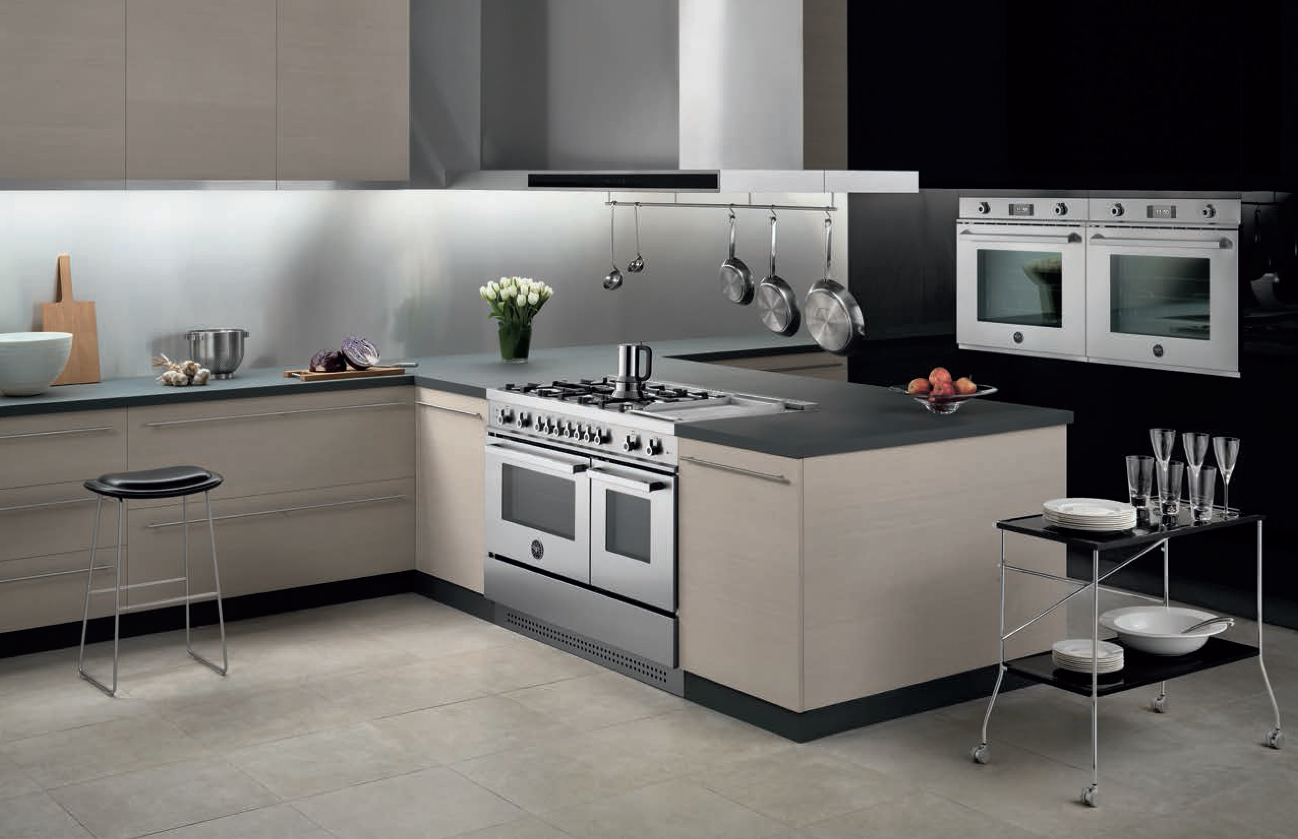 Another Professional Series kitchen, this time with stainless appliances.