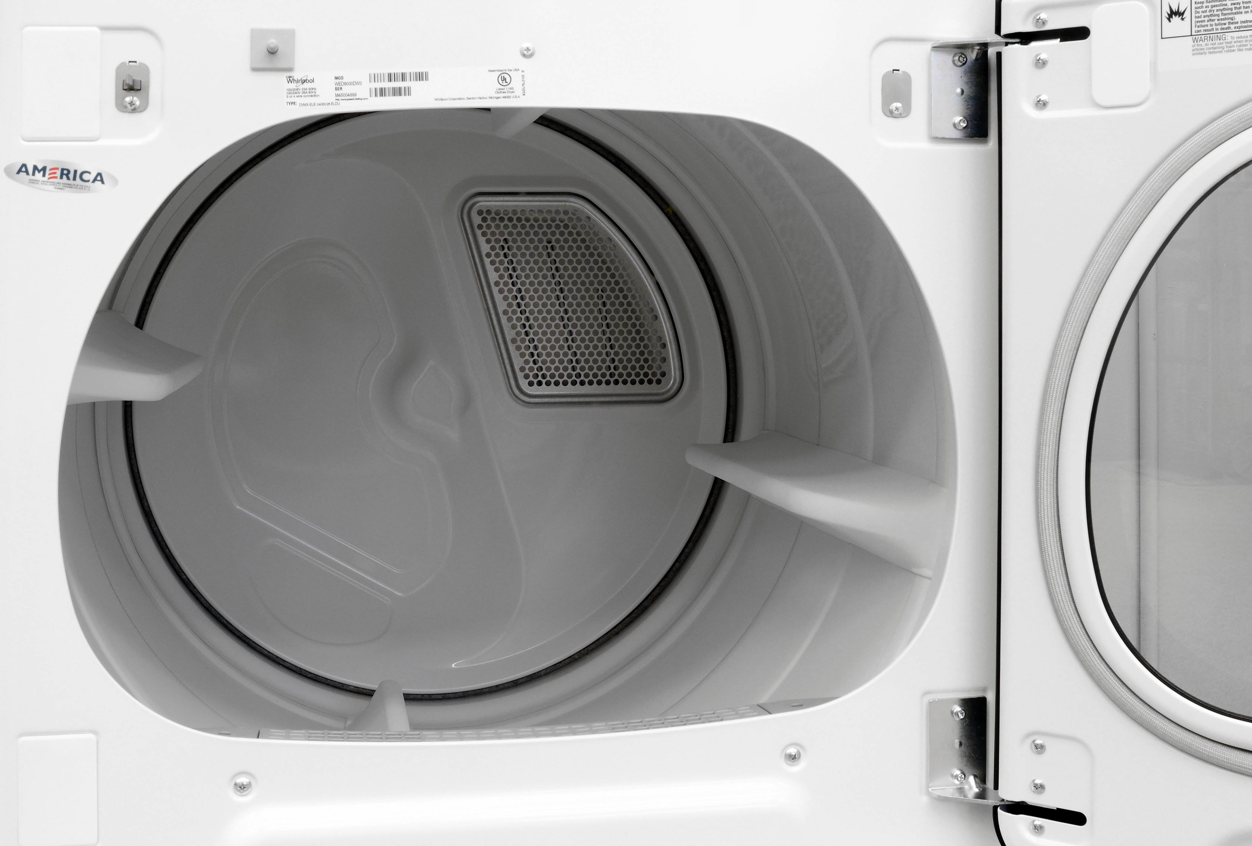Inside Of A Dryer ~ Whirlpool cabrio wed dw dryer review reviewed laundry
