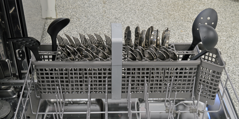 KitchenAid KDTM404ESS cutlery basket capacity