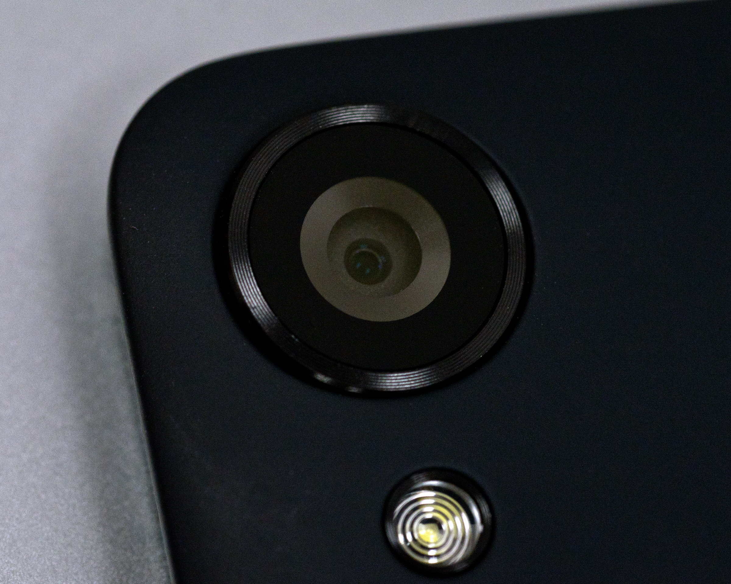 A photo of the Google Nexus 9's rear camera.