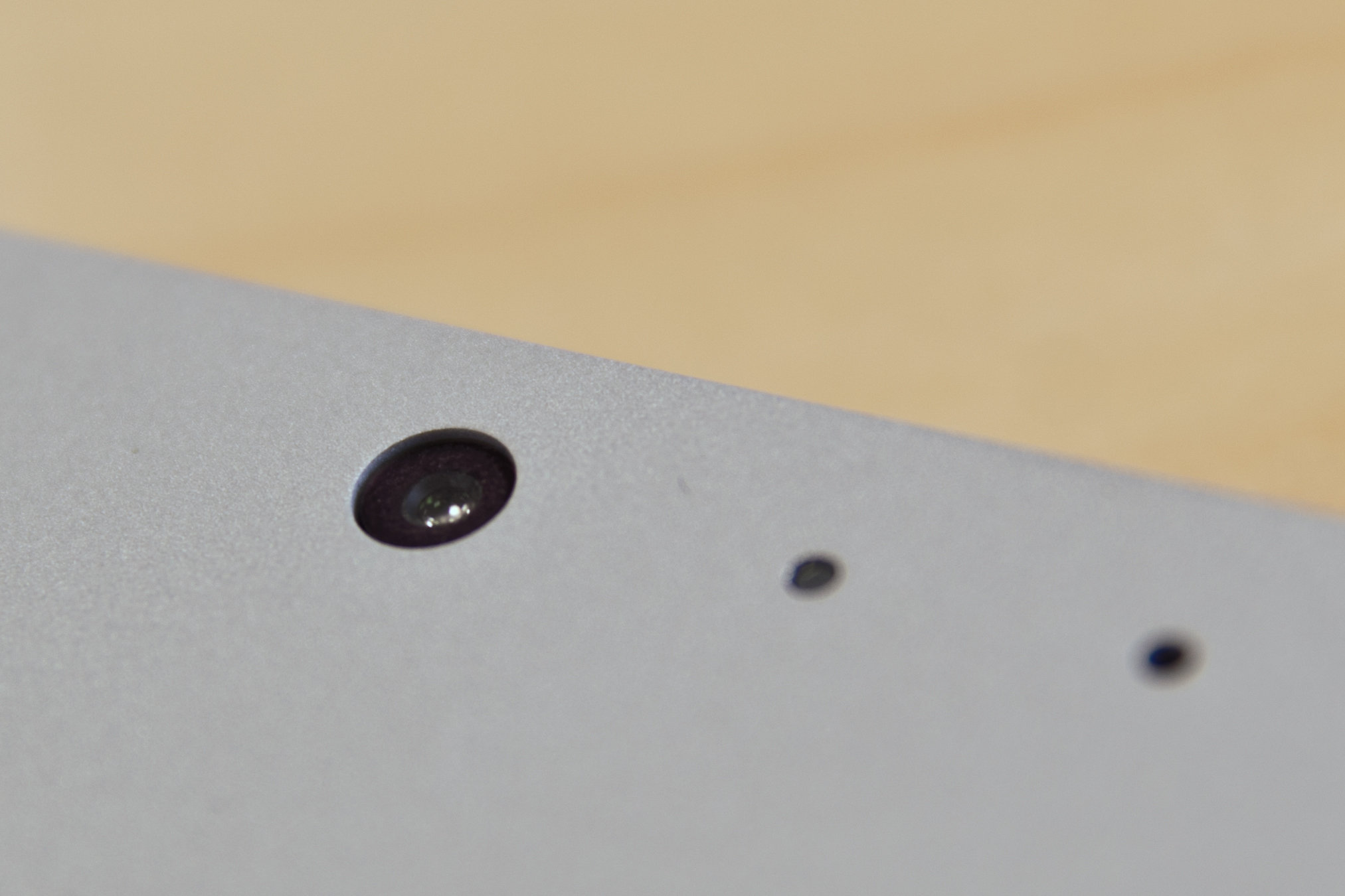 A closer look at the Microsoft Surface Pro 3's camera.