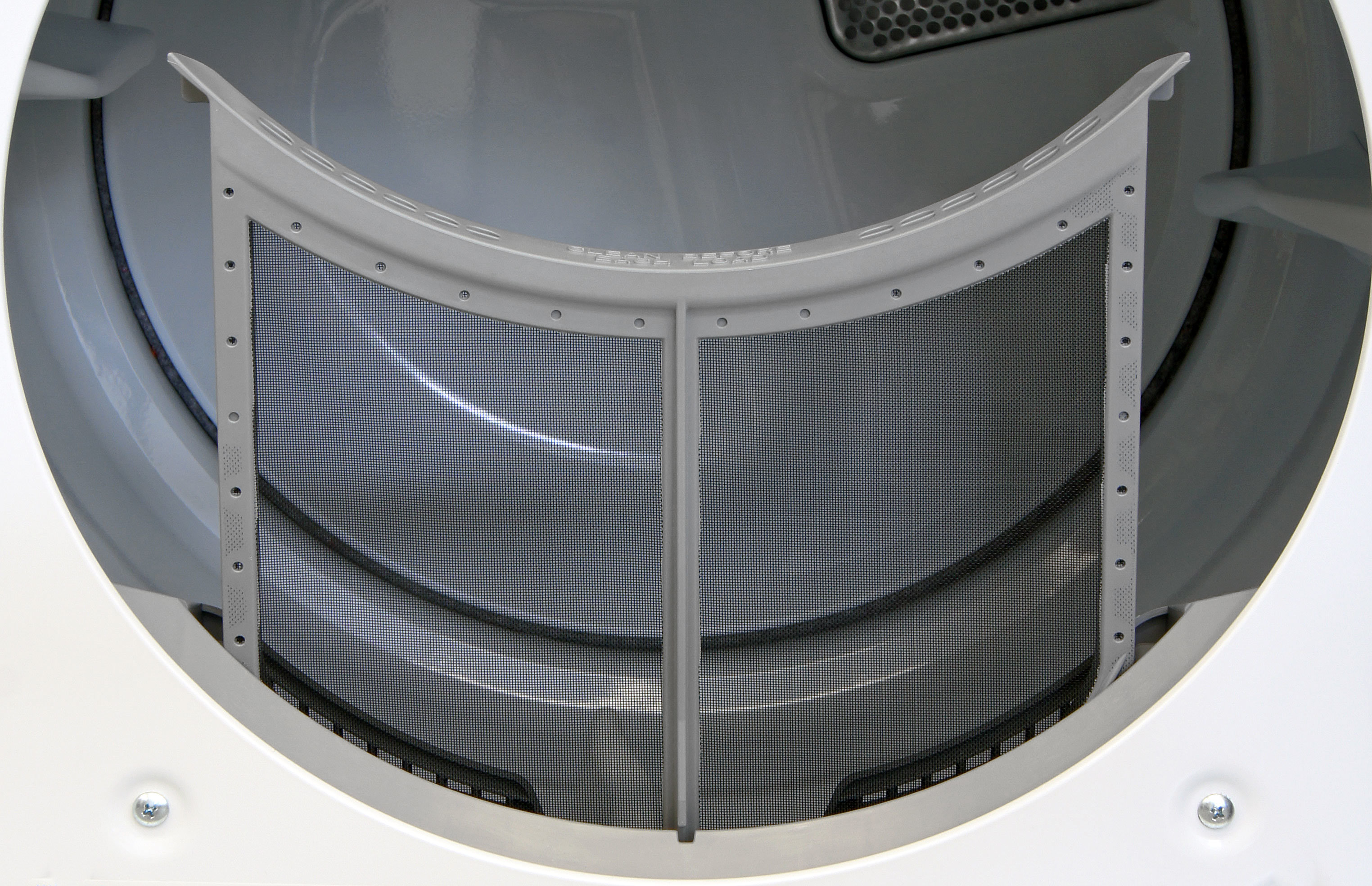 The Maytag Maxima MED5100DW has a standard lint trap. What more is there to say?