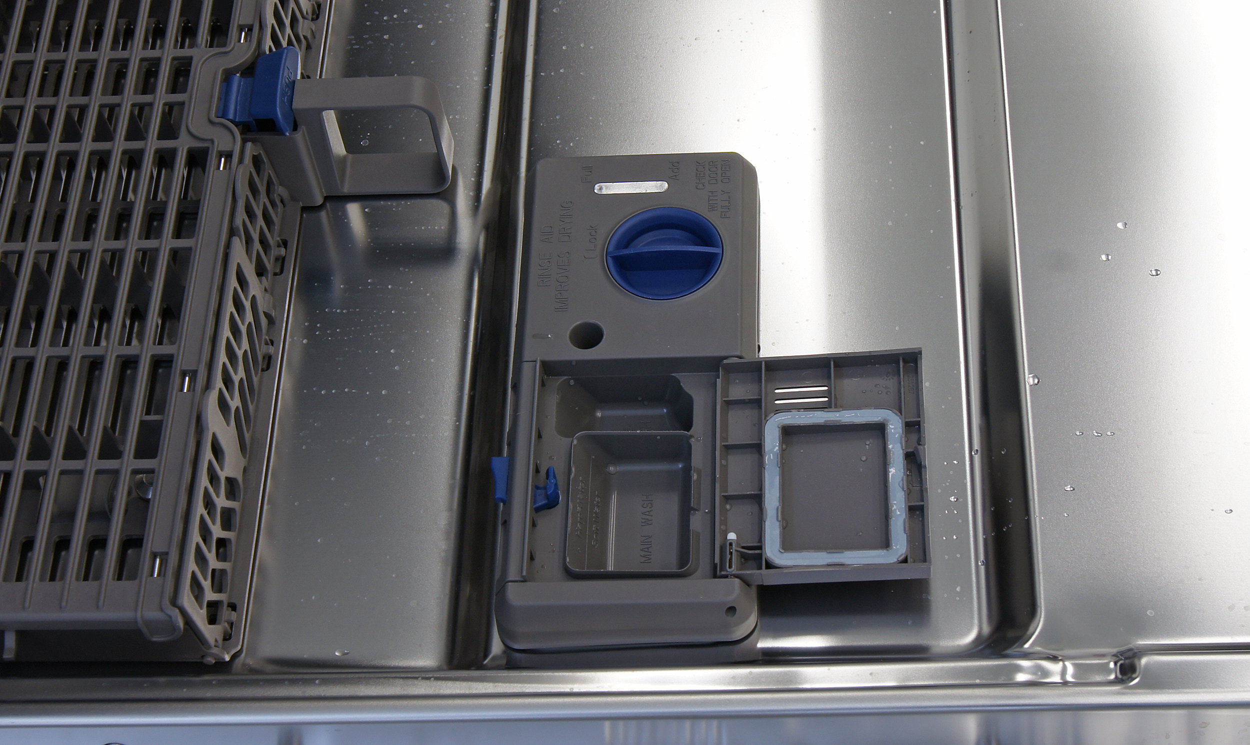 Whirlpool detergent dispenser