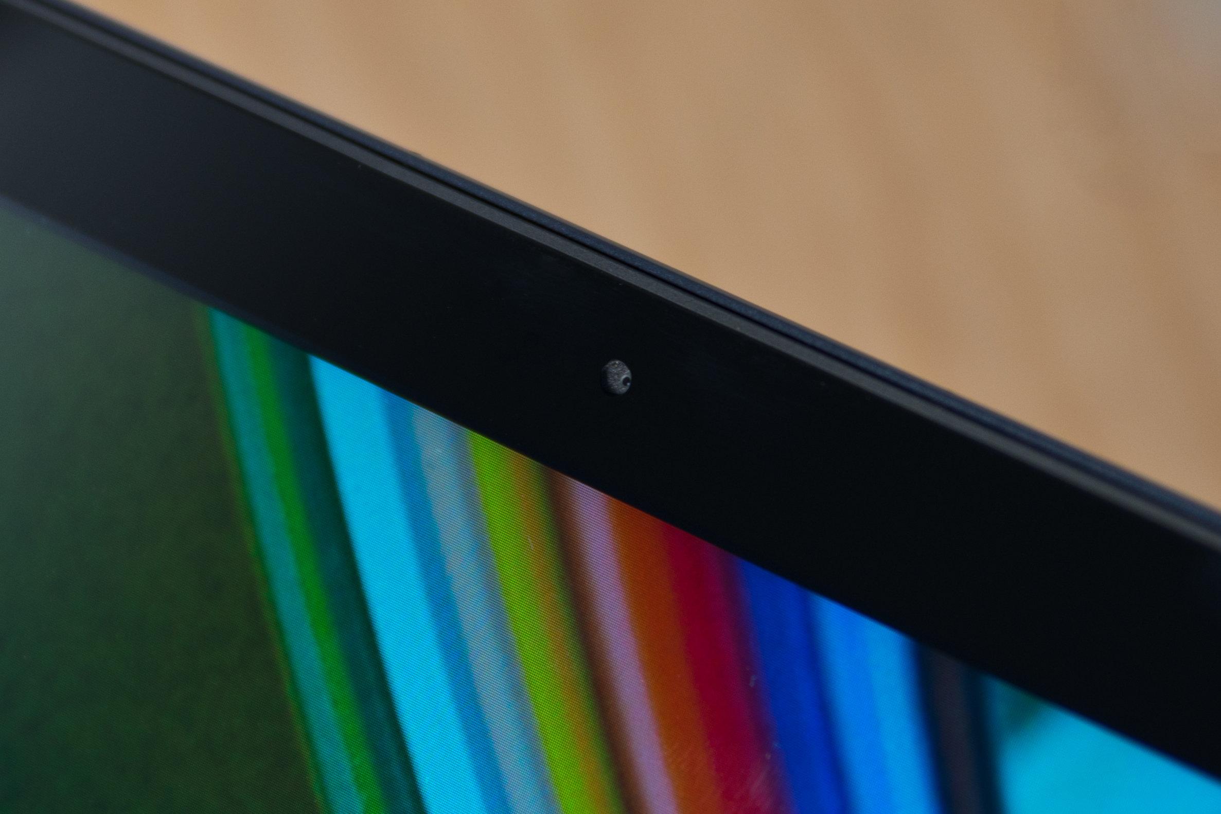 A photograph of the Samsung ATIV Book 9 2014 Edition's camera.