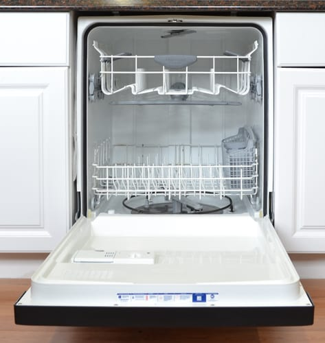 Frigidaire gallery fgbd2431nf 24 in built in stainless steel dishwasher review for White dishwasher with stainless steel interior