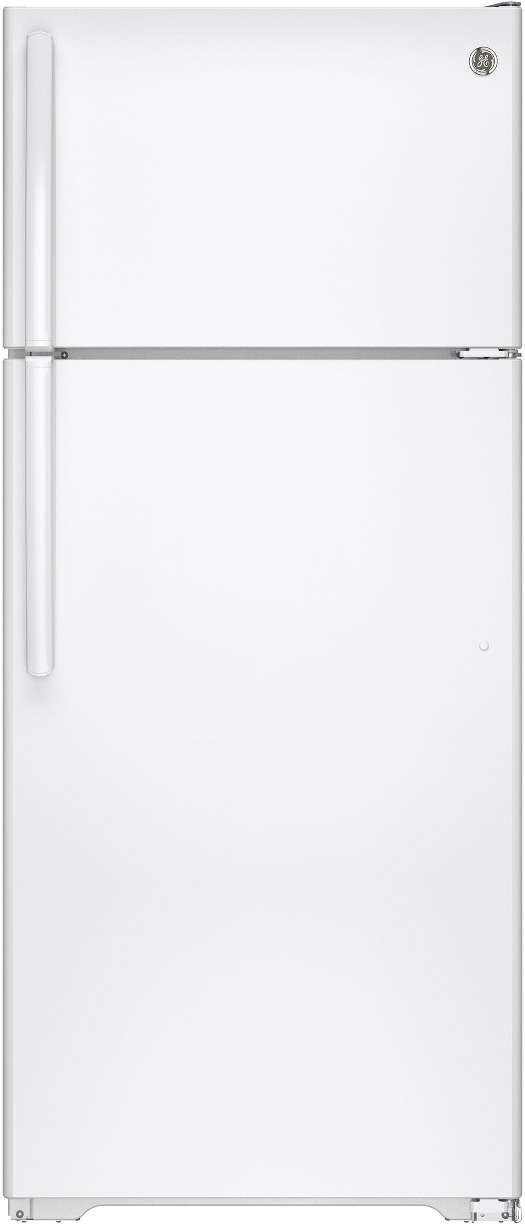 The white GAS18PGJWW costs about $100 less than the stainless, but is otherwise identical.