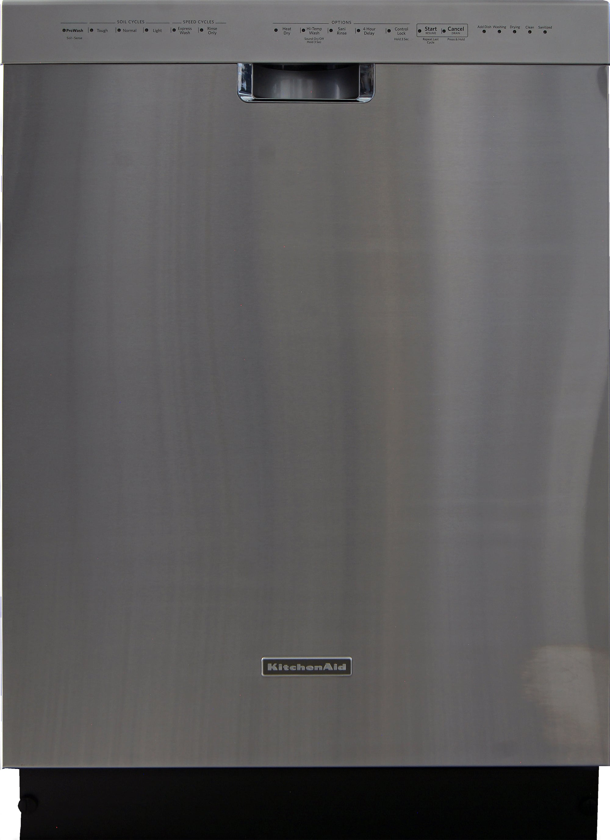 Kitchen Aid Dishwasher Rinse How Long