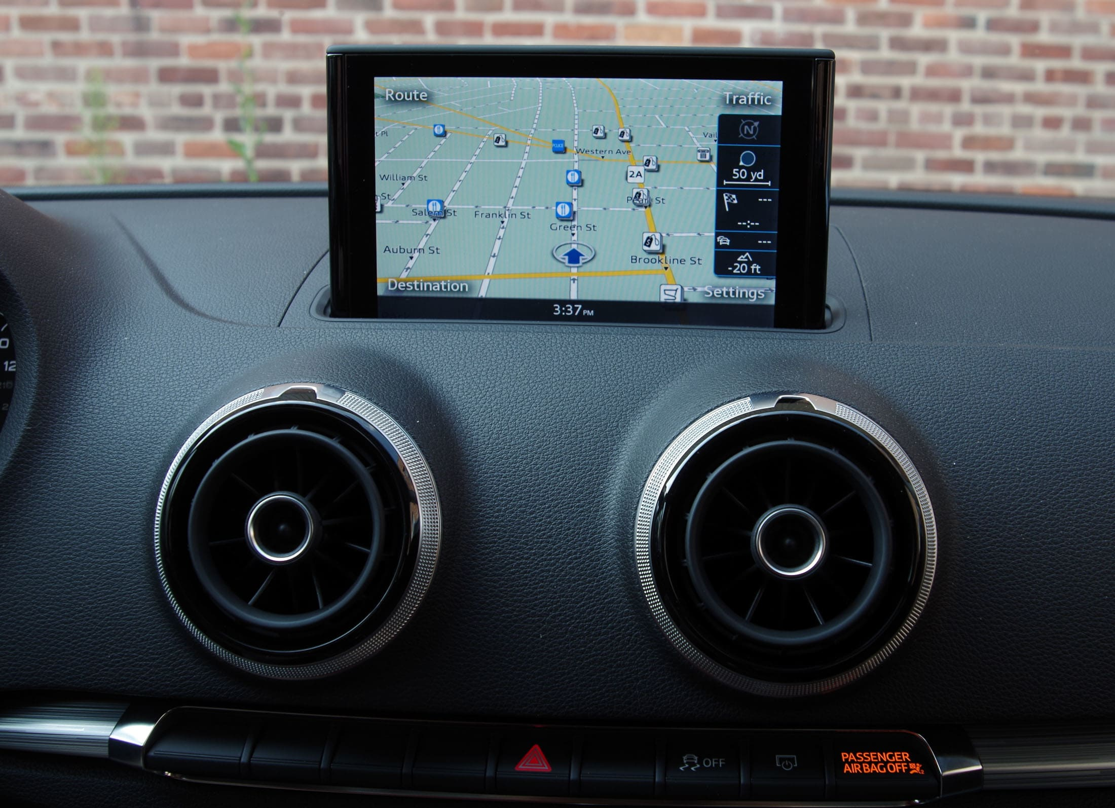 2015 audi a3 navigation screen