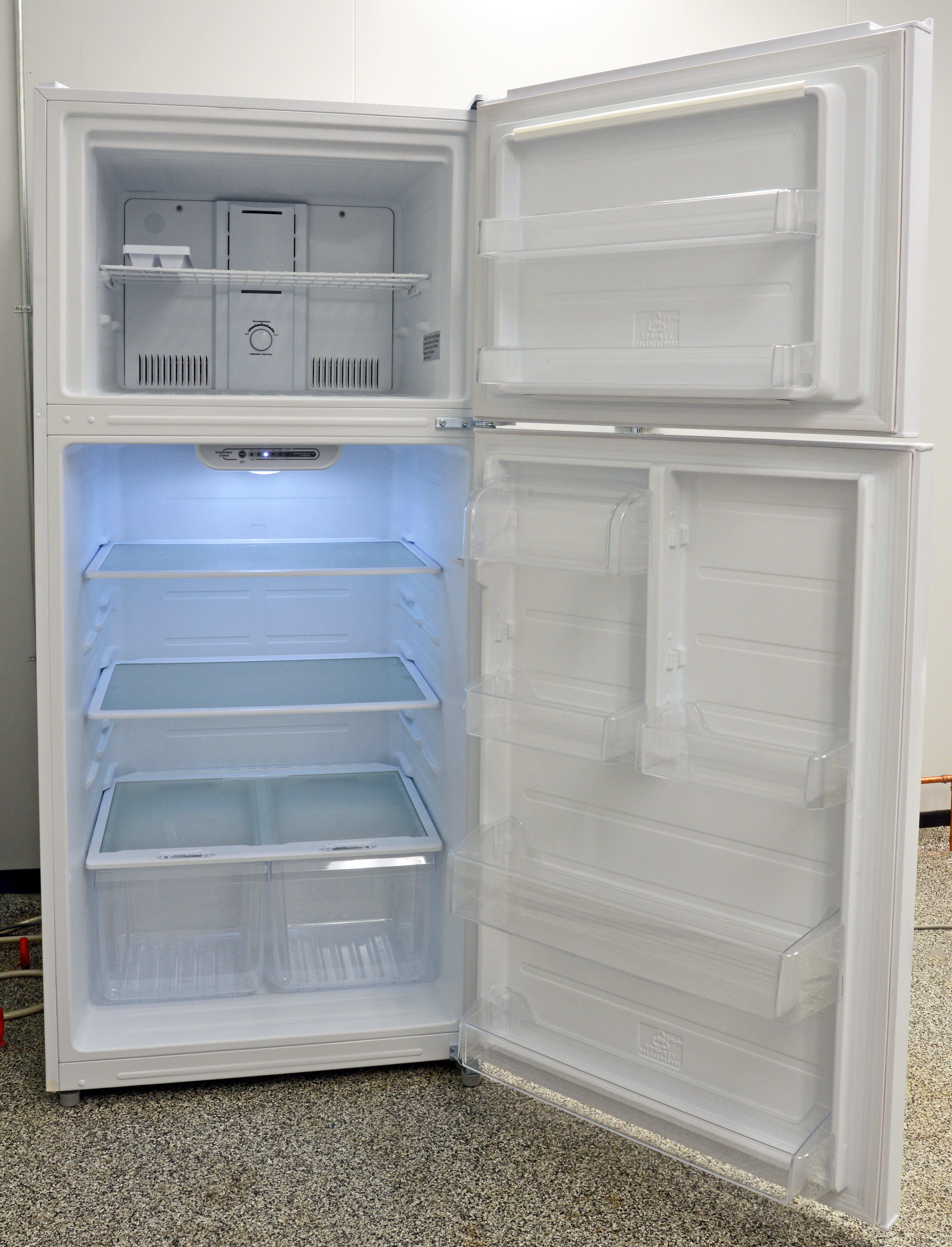 This basic appliance is a great deal, but it's better suited as a second, supplemental fridge for large families.