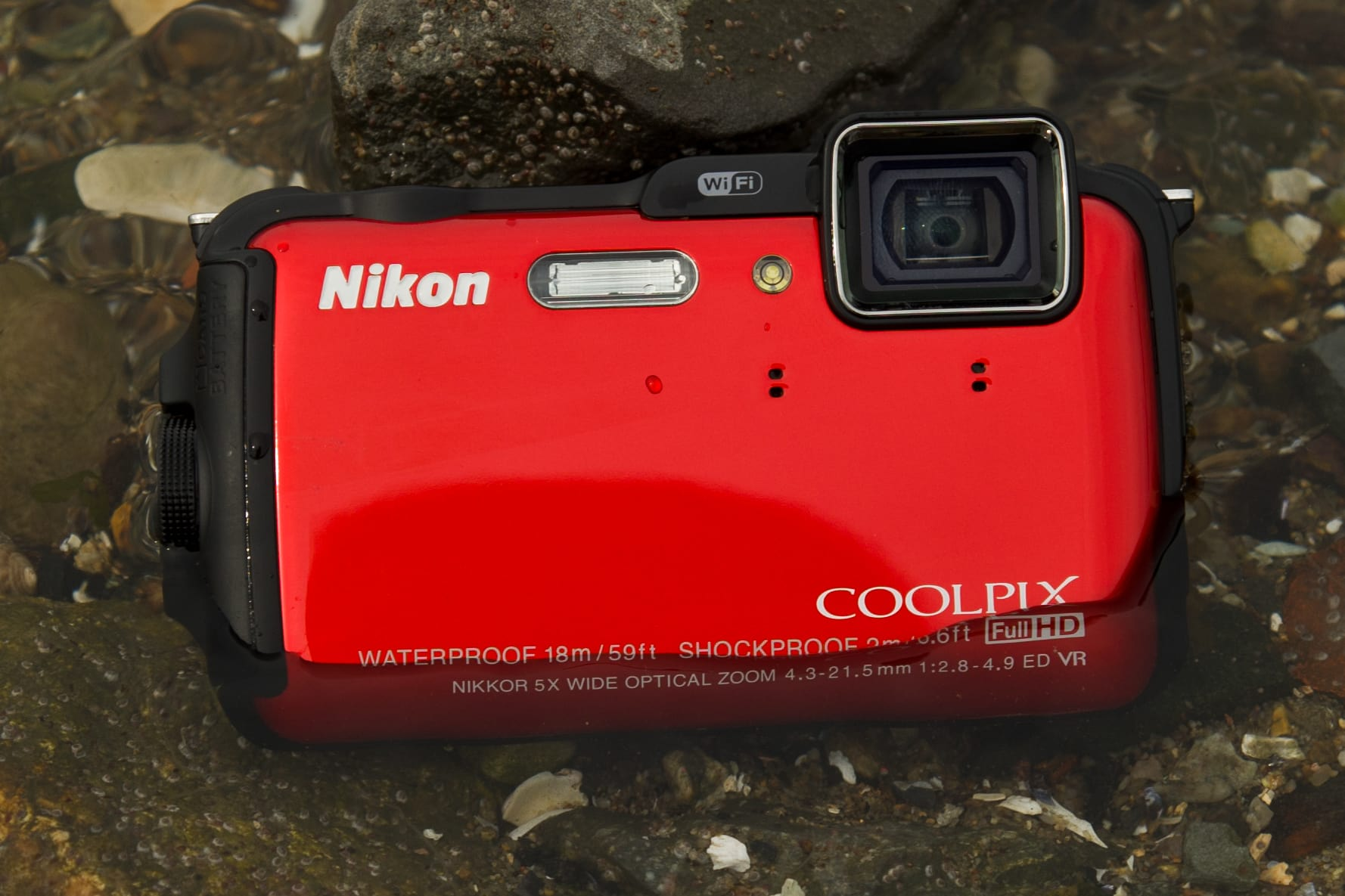 A shot of the Nikon Coolpix AW120 in the wild.
