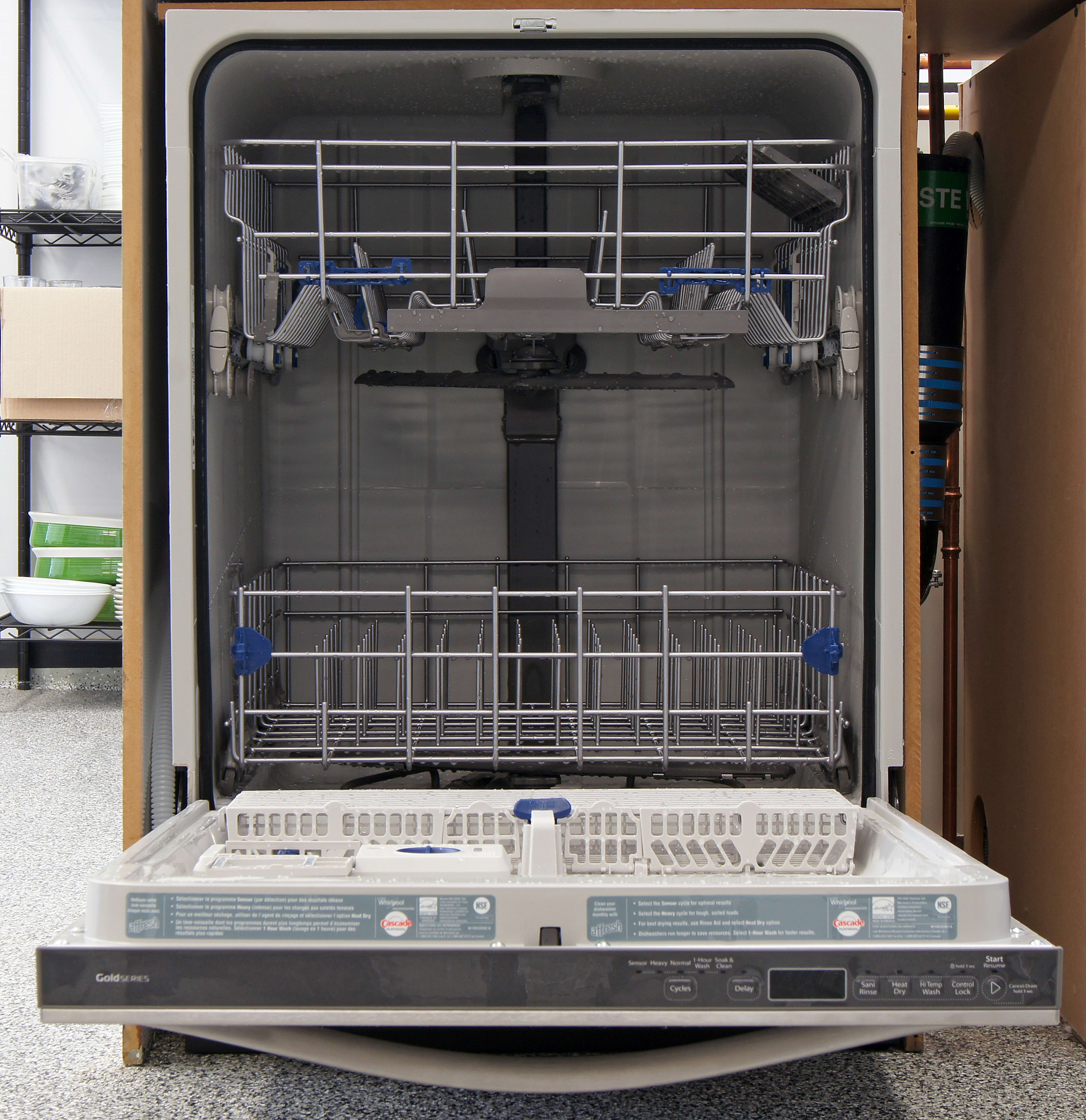 Whirlpool Gold Wdt720padm Dishwasher Review Reviewed Com