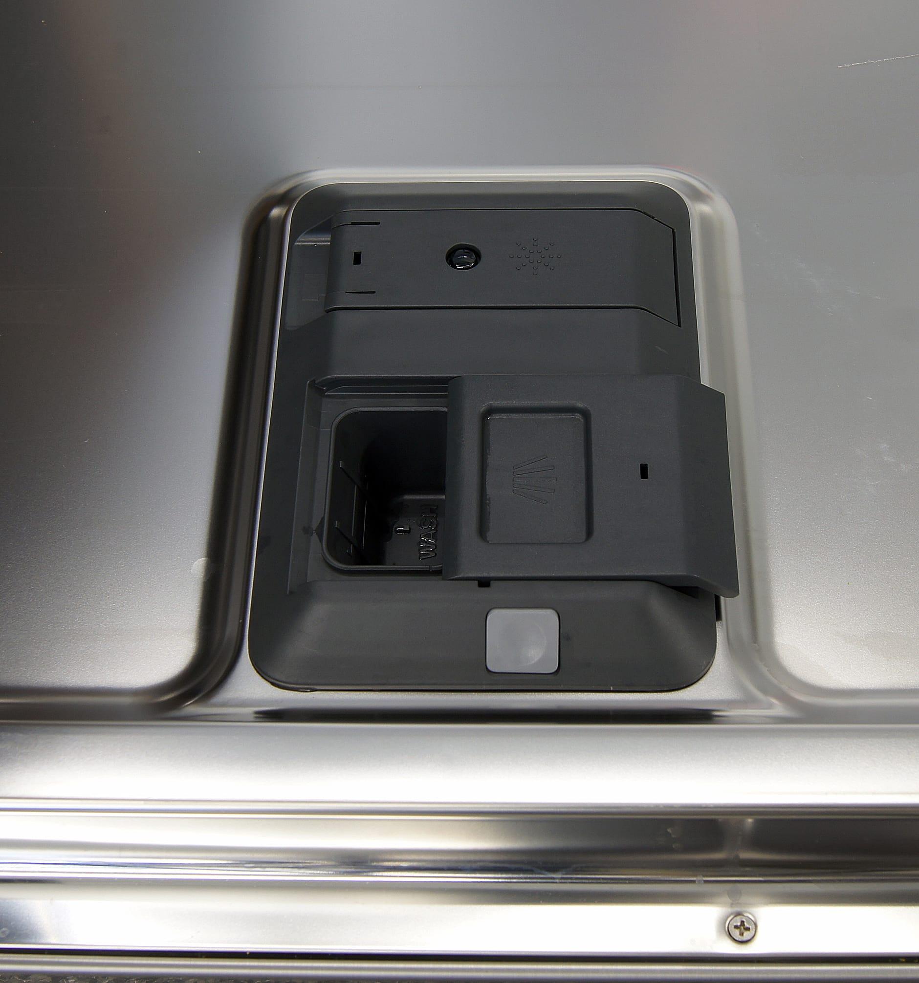 Frigidaire Gallery FGID2474QS detergent and rinse aid dispenser