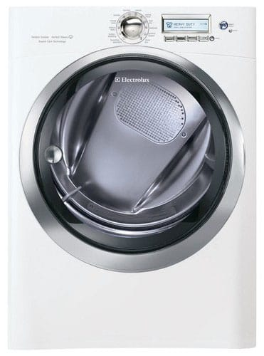 The 8-cu.-ft. Electrolux EWMGD70JIW offers a minimalist visual style with surprisingly deep functionality.