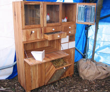 Storage Compartments in the Chicken Coop
