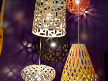 Rypen Bamboo Light Fixtures