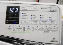 Whirlpool Duet WED99HEDW Controls