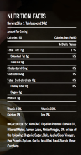Just Mayo Nutrition Facts [Hampton Creek]