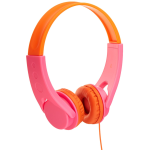 Amazonbasics%20volume limited on ear headphones for kids