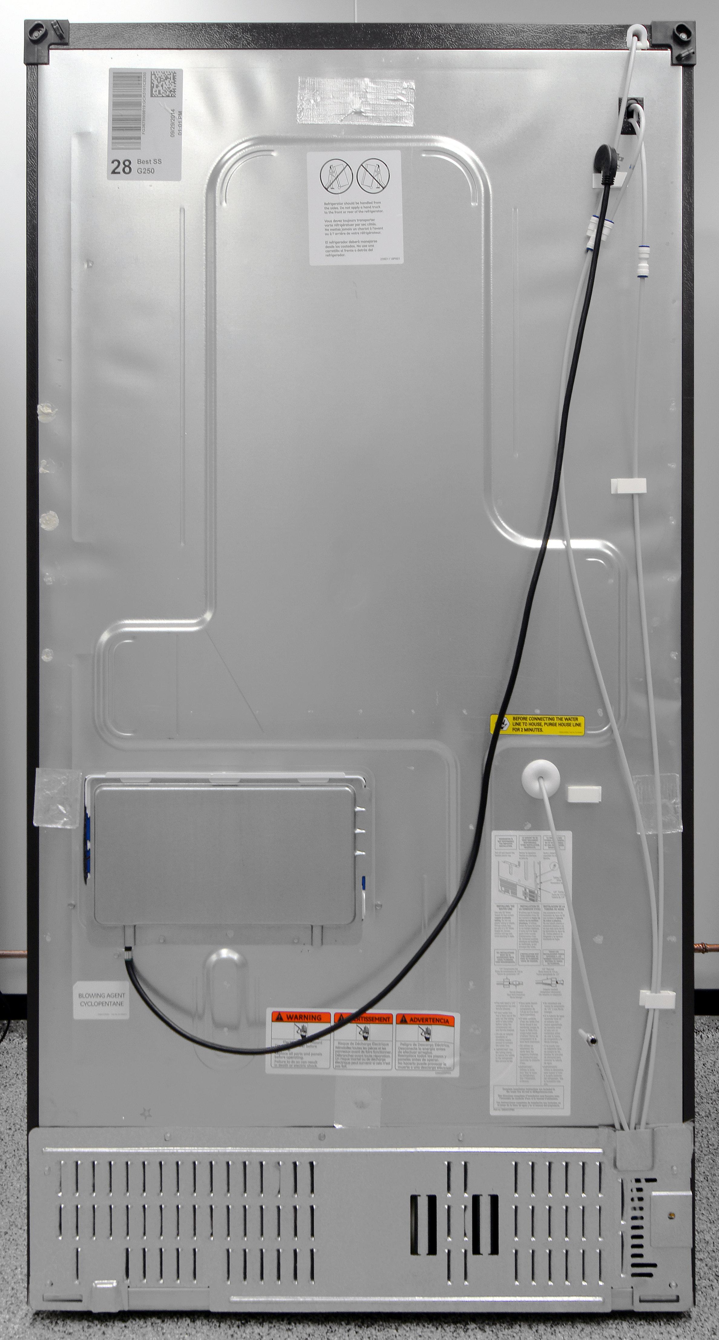 Ge profile refrigerator water line hookup