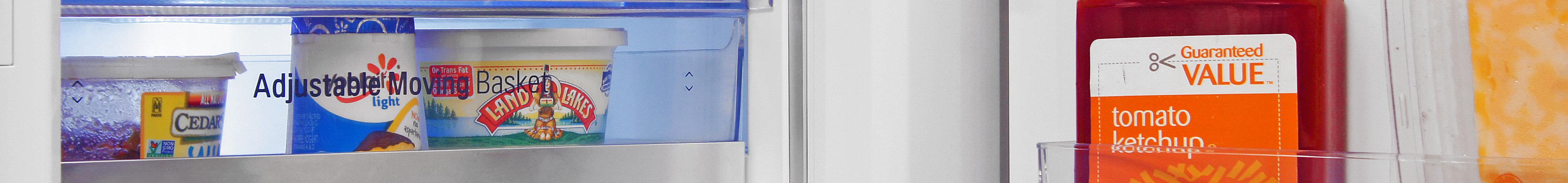 LG LSC22991ST 21.6 Cubic Foot Counter Depth Side by Side with Door in Door Storage