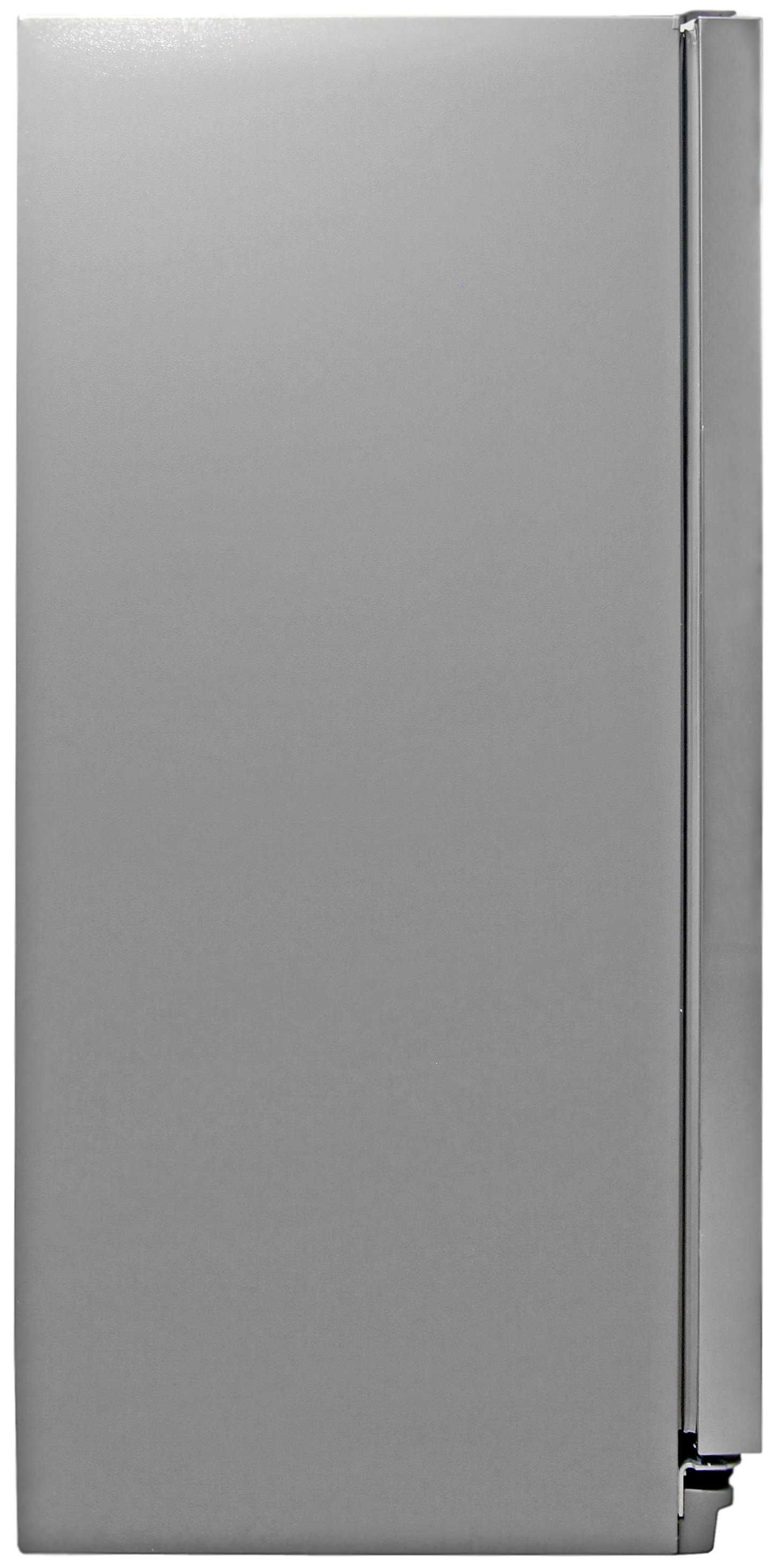 A standard grey matte finish is found on the sides of the Whirlpool WRS325FDAM.