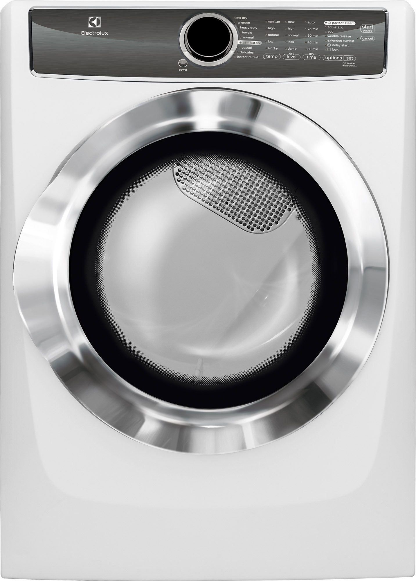 The Electrolux EFME617SIW 8-cu.-ft. electric dryer is one of the best we've tested.