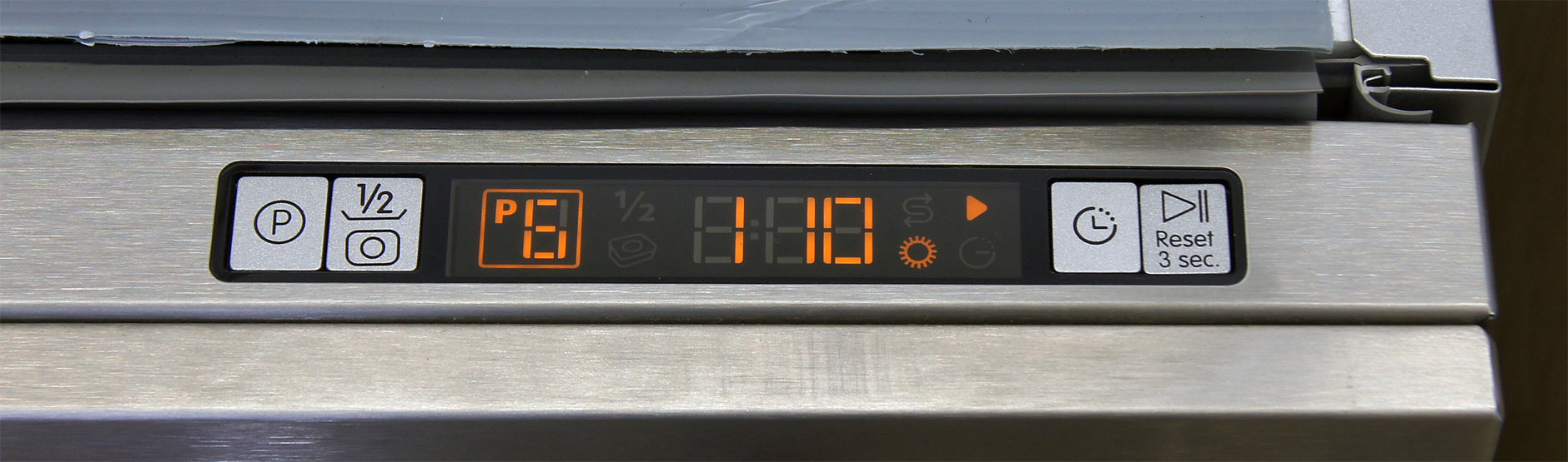 Blomberg DWT57500SS control display