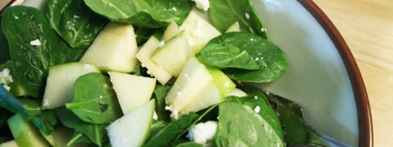 Spinach apple salad hero thumb