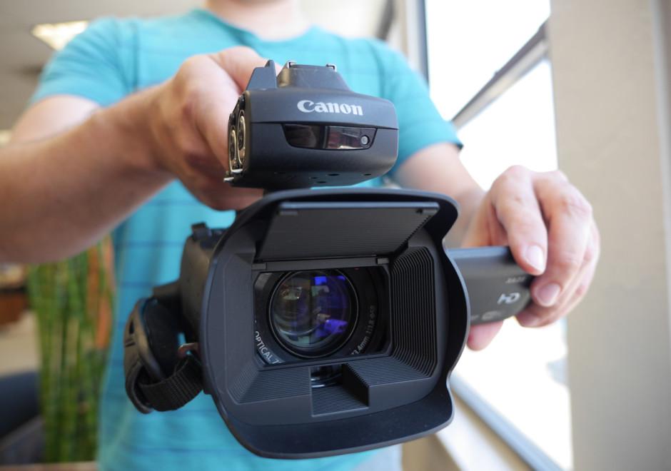 Canon XA25 Handling