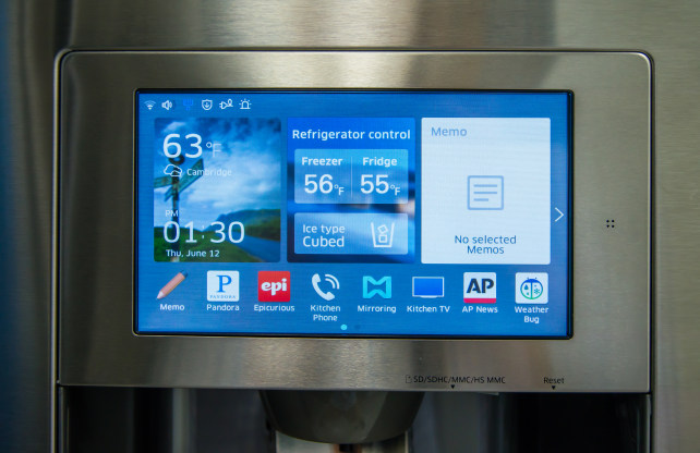 samsung tv refrigerator. credit: samsung tv refrigerator