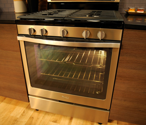 whirlpool says stainless is out, sunset bronze is in - reviewed