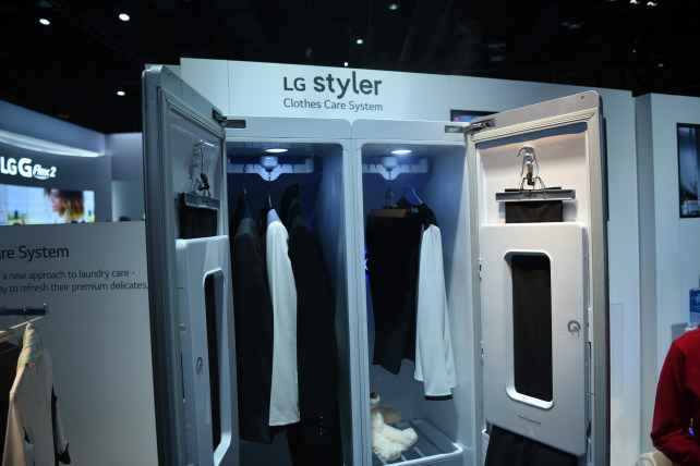 New LG Styler Steam Closet Will Keep You Looking Good - Reviewed ...