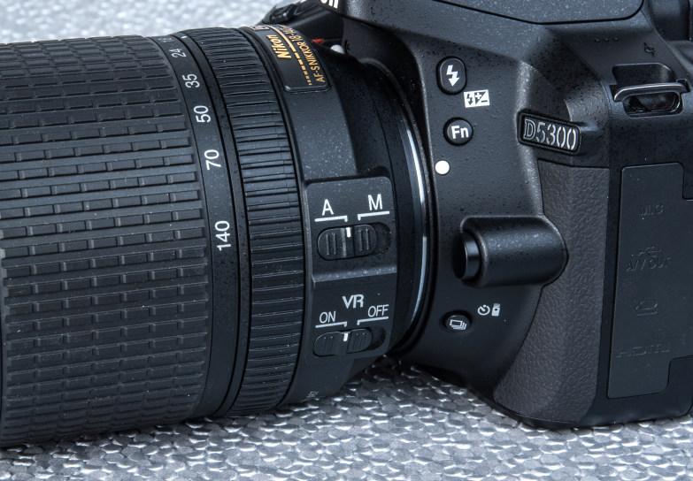 Nikon D5300 24 2 MP Digital SLR Camera 18-55mm Lens (8GB Memory Card and  Bag)