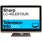 Sharp lc 40le810un vanity