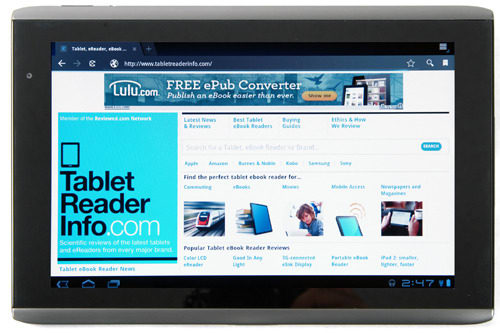 Product Image - Acer Iconia Tab