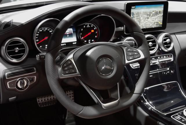 Mercedes C-Class Coupe Interior
