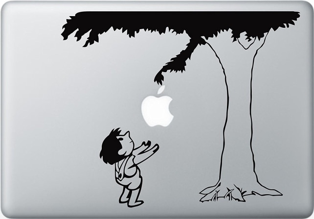 Apple Logo Giving Tree