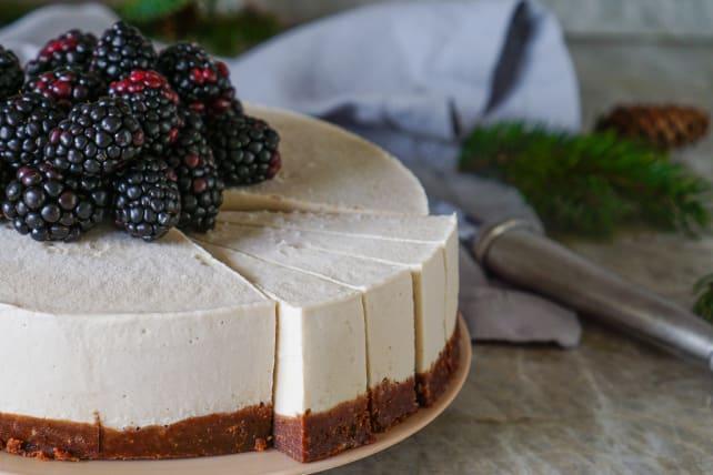 Raw vegan cheesecake