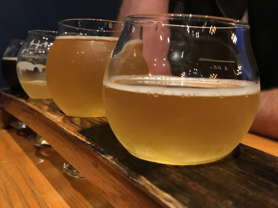 Apple iPhone 6s Beer Flight Closeup 2