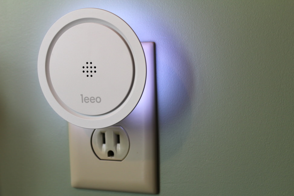 Leeo Smart Alert Smoke/CO Remote Alarm Monitor