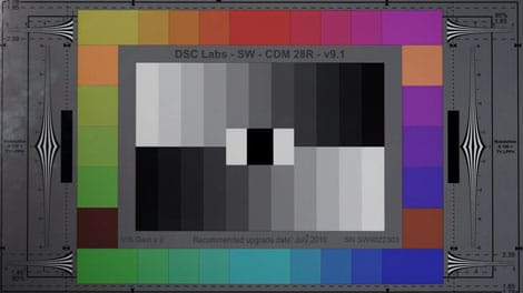 3000 Lux Test Chart