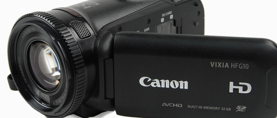 Product Image - Canon  Vixia HF G10