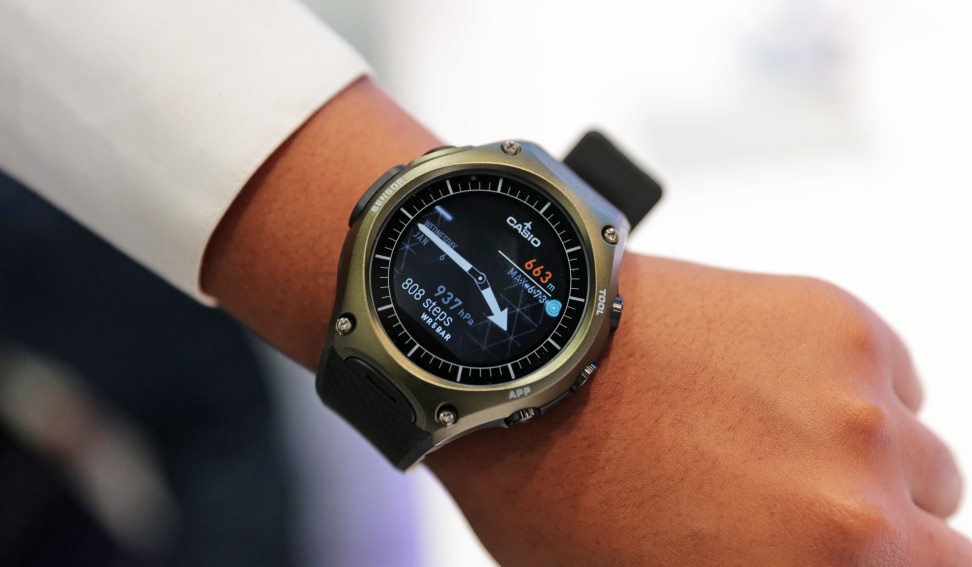 Casio Outdoor Smart Watch Design