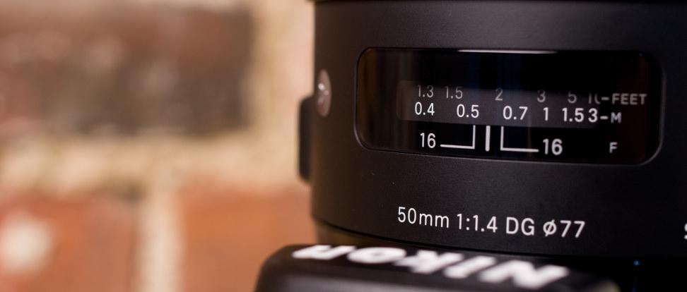 Product Image - Sigma 50mm f/1.4 DG HSM A