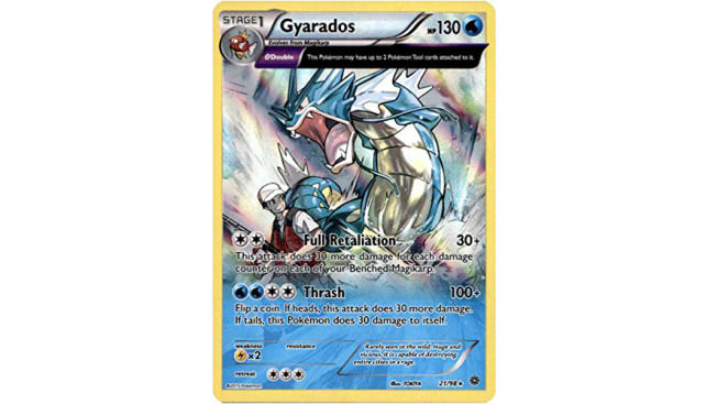 Pokemon - Gyarados (21/98) - Ancient Origins - Holo