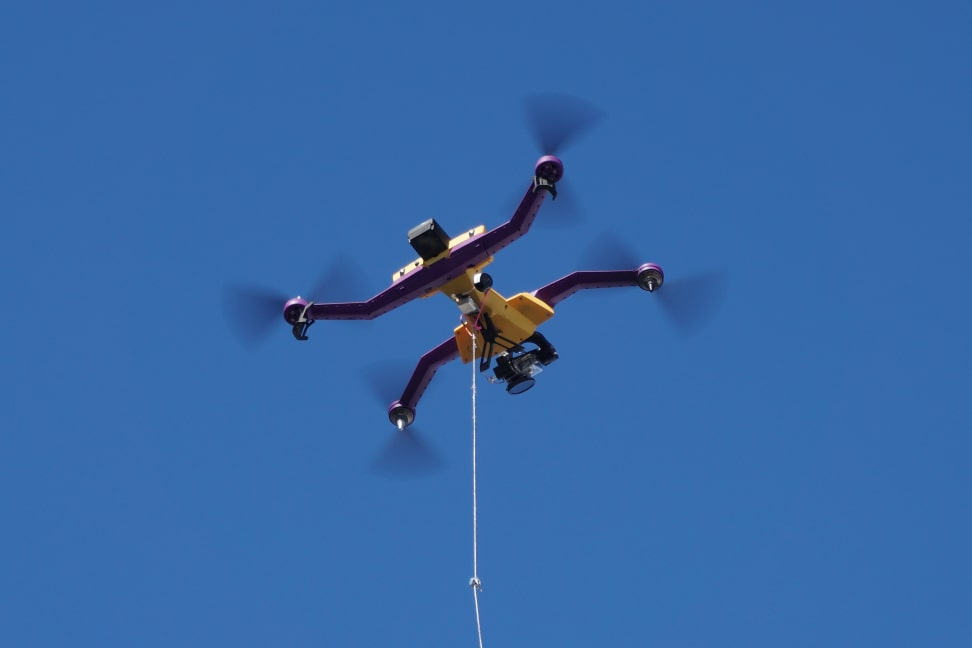 AirDog in flight