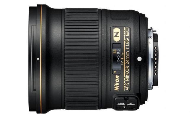 24mm f/1.8G Side